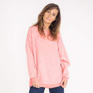 Wildfox Couture Pink Preppy Roadtrip Sweater - Extra- Small