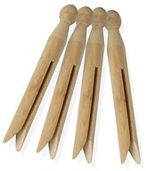 Honey-Can-Do DRY-01381 Traditional Wood Clothespins, 50-Pack