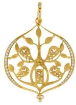 Temple St. Clair 18K Diamond Athena Owl Pendant