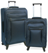Perry Ellis Fortune Ultra Lightweight Spinner Luggage Set