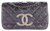 Chanel Strass CC Python Flap Bag