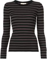 Michael Kors multi-stripe jersey top