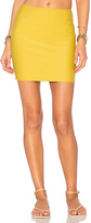 Acacia Swimwear Mesh Paia Skirt in Mustard. - size M (also in S,XS)