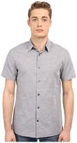Vince Linen Short Sleeve Melrose Shirt