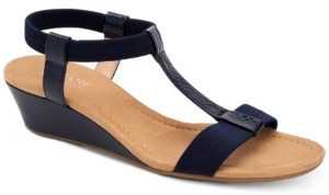Alfani Women's Step 'N Flex Voyage Wedge Sandals, Created for Macy's Women's Shoes