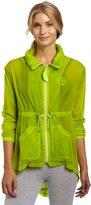 Zumba Fitness LLC Women's Stellar Sheer Jacket