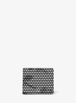 Michael Kors Kent Dot Print Slim Billfold Wallet