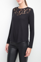 Generation Love Ainsley Lace Yoke Top