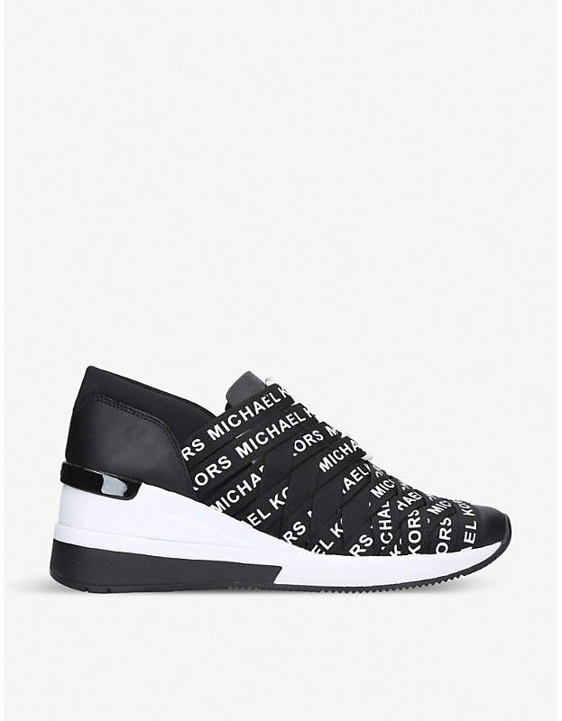 MICHAEL Michael Kors Cydney logo-detail leather trainers