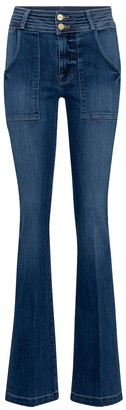 Frame Le High Flare bootcut jeans