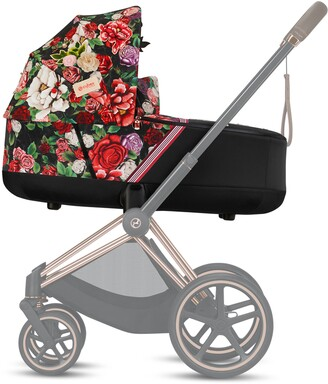 Cybex Priam Lux Dark Spring Blossom Carry Cot