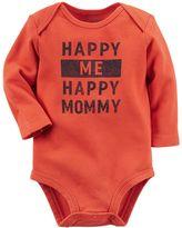 Carter's Baby Boy Family Statement Long Sleeve Bodysuit