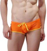 Ouroboros Swimwear Mens Swim Trunks, 8 Color Options, Nylon