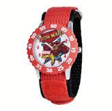 Marvel Iron Man Kids Red Nylon Strap Watch