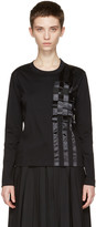 Noir Kei Ninomiya Black Tape T-shirt
