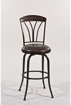"Hillsdale Marano Bar & Counter Swivel Stool Furniture Seat Height: Bar Stool (30"" Seat Height)"