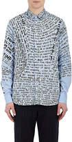 "Oamc Men's ""Paradise Lost"" Cotton Poplin Shirt"