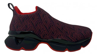 Christian Louboutin Funfor Run Red Rubber Trainers
