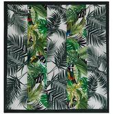 Max Mara Tropical Print Scarf