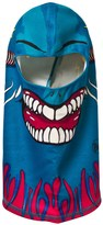 Buff Blue Terrifying Graphic Polar Fleece Balaclava
