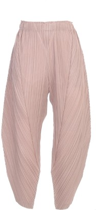 Pleats Please Issey Miyake Pants Elastic Waist And Ankle