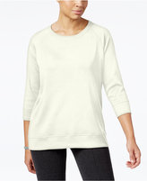 Karen Scott Active Sweatshirt, Created for Macy's