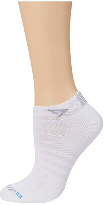 Drymax Sport Hyper Thin Running Mini Crew 1-Pair (White) No Show Socks Shoes