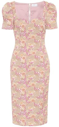 Rebecca Vallance Stella floral midi dress