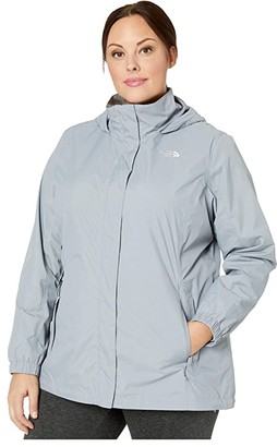 The North Face Plus Size Resolve 2 Jacket (TNF Black) Women's Clothing