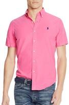 Polo Ralph Lauren Cotton Silk Regular Fit Button Down Shirt