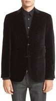 John Varvatos Men's Trim Fit Velvet Dinner Jacket
