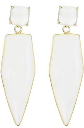 Panacea Agate Teardrop Earrings