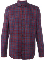 Z Zegna checked shirt