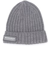 Woolrich Kids - ribbed beanie - kids - Wool - One Size