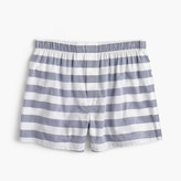 J.Crew Bold navy-striped boxers