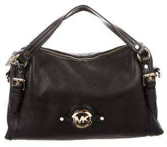 MICHAEL Michael Kors Medium Leather Stockard Satchel