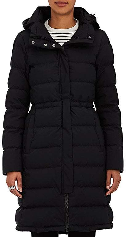 Herno Women's Down-Quilted Tech-Fabric Long Coat
