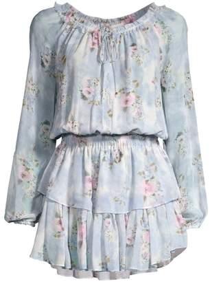 LoveShackFancy Floral Popover Dress