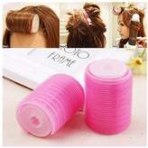 Lovef Jewelry Lovef Women Bangs Hair Styling Tools Salon Curlers Hot Cling Rollers Curlers Hair Rollers Double 2Pcs