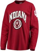 Unbranded Women's Crimson Indiana Hoosiers Edith Long Sleeve T-Shirt
