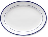 Williams-Sonoma Brasserie Blue-Banded Porcelain Oval Platter