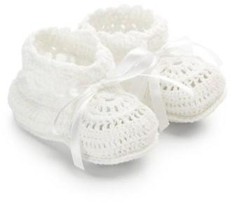 Elegant Baby Baby's Crochet Booties