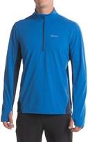 Marmot Excel Shirt - UPF 50, Zip Neck, Long Sleeve (For Men)