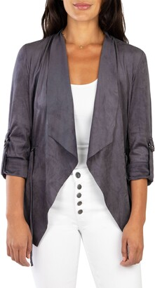 KUT from the Kloth Dianne Faux Suede Jacket