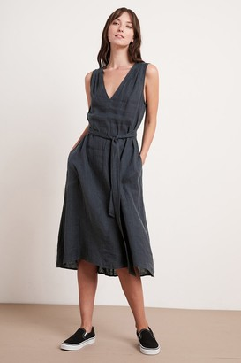 Velvet by Graham & Spencer Harmony Linen Dress