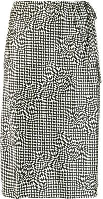 6397 Checked Skirt