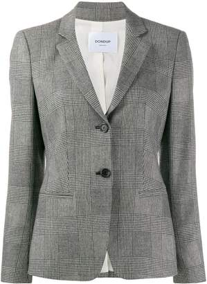 Dondup Prince of Wales check blazer