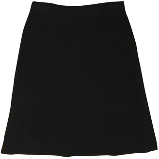 Missoni Black Wool Skirt for Women Vintage