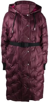 Diesel Quilted Hooded Coat