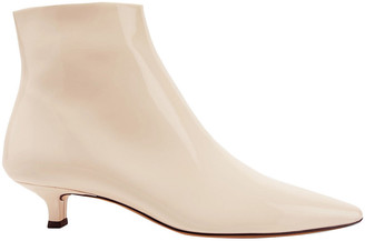 The Row Patent-leather Ankle Boots